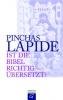 Lapide, Pinchas: Ist die Bibel richtig übersetzt?